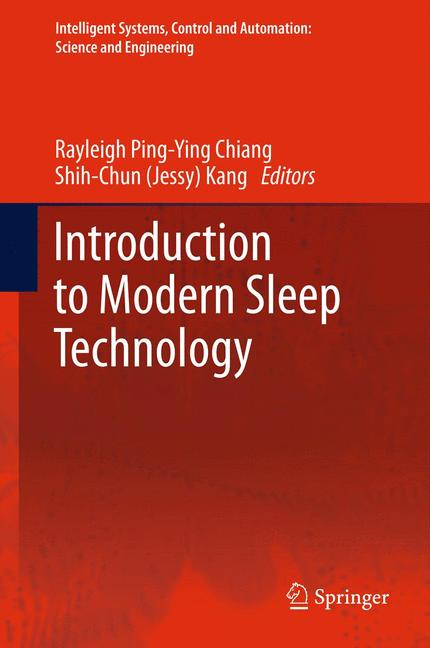 Cover of 'Introduction to Modern Sleep Technology'