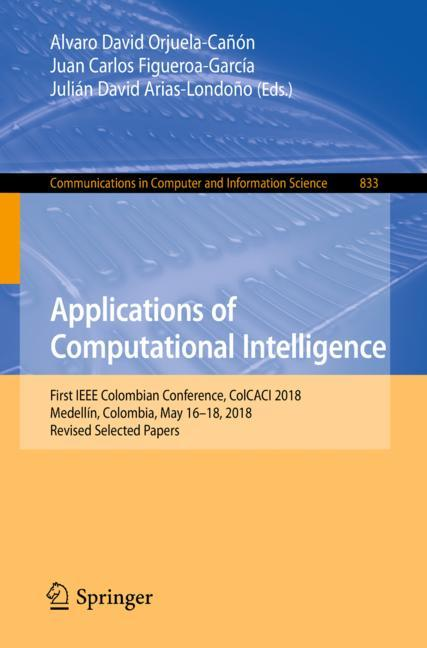 Cover of 'Applications of Computational Intelligence'