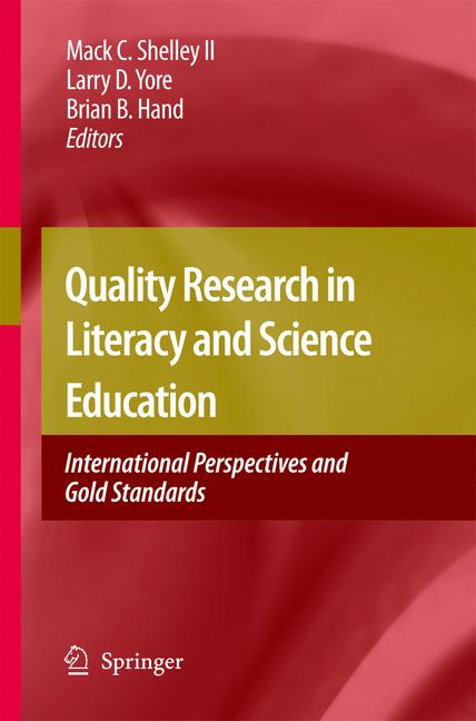 Cover of 'Quality Research in Literacy and Science Education'