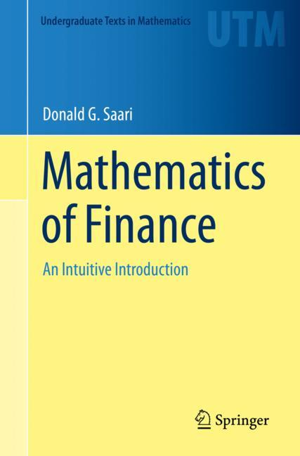 Cover of 'Mathematics of Finance'