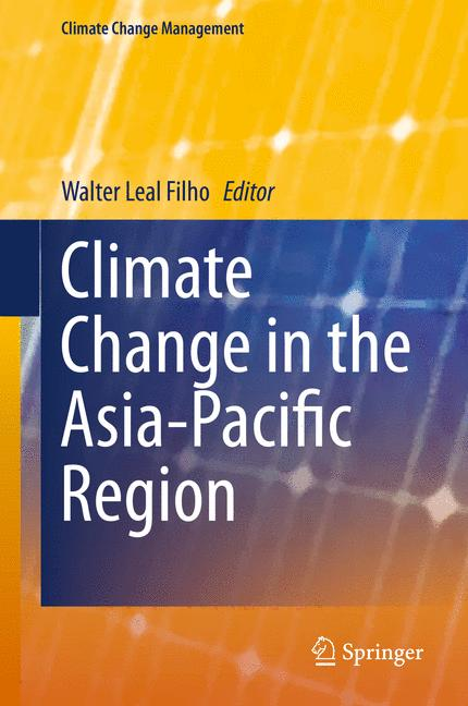 Cover of 'Climate Change in the Asia-Pacific Region'