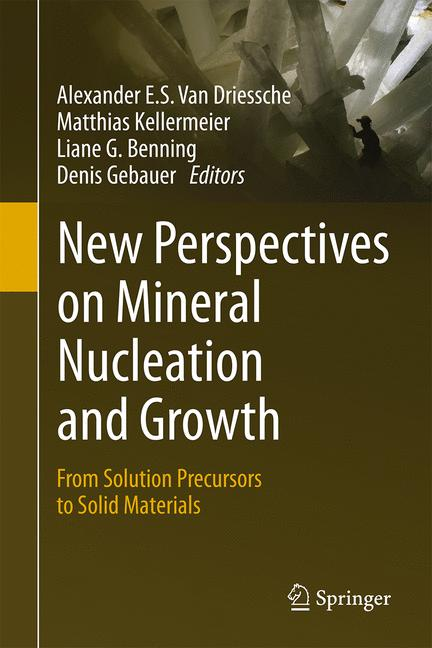 Cover of 'New Perspectives on Mineral Nucleation and Growth'