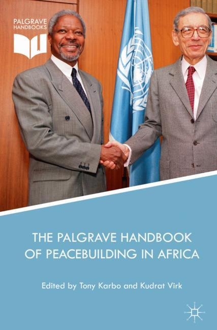 Cover of 'The Palgrave Handbook of Peacebuilding in Africa'