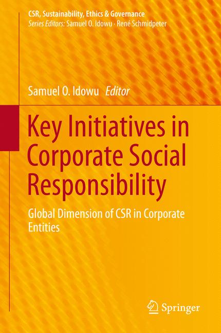 Cover of 'Key Initiatives in Corporate Social Responsibility'