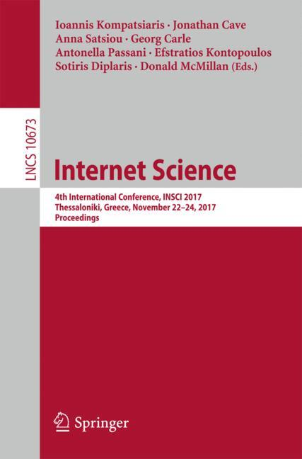 Cover of 'Internet Science'