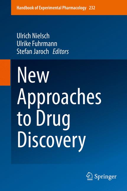 Cover of 'New Approaches to Drug Discovery'