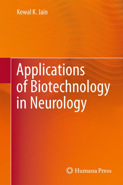Cover of 'Applications of Biotechnology in Neurology'