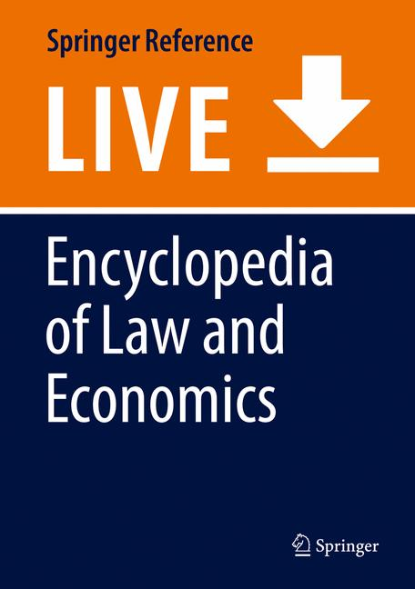 Cover of 'Encyclopedia of Law and Economics'
