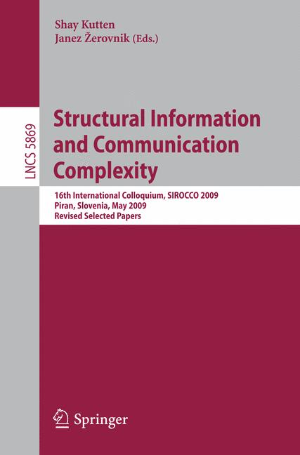 Cover of 'Structural Information and Communication Complexity'