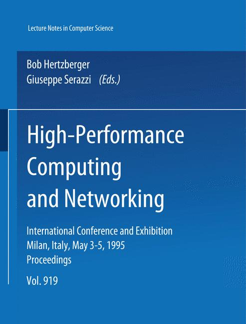 Cover of 'High-Performance Computing and Networking'