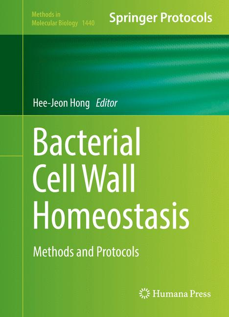 Cover of 'Bacterial Cell Wall Homeostasis'