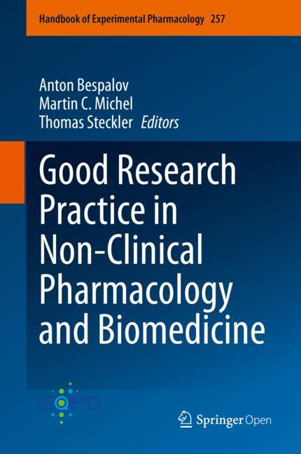Cover of 'Good Research Practice in Non-Clinical Pharmacology and Biomedicine'