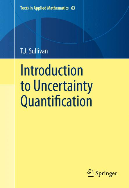 Cover of 'Introduction to Uncertainty Quantification'