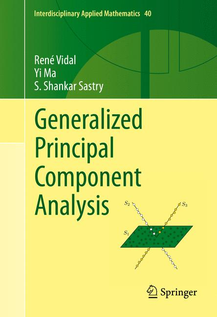 Cover of 'Generalized Principal Component Analysis'
