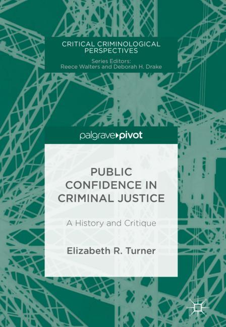 Cover of 'Public Confidence in Criminal Justice'