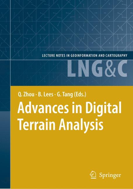Cover of 'Advances in Digital Terrain Analysis'