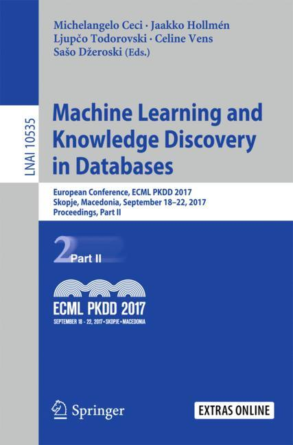 Cover of 'Machine Learning and Knowledge Discovery in Databases'
