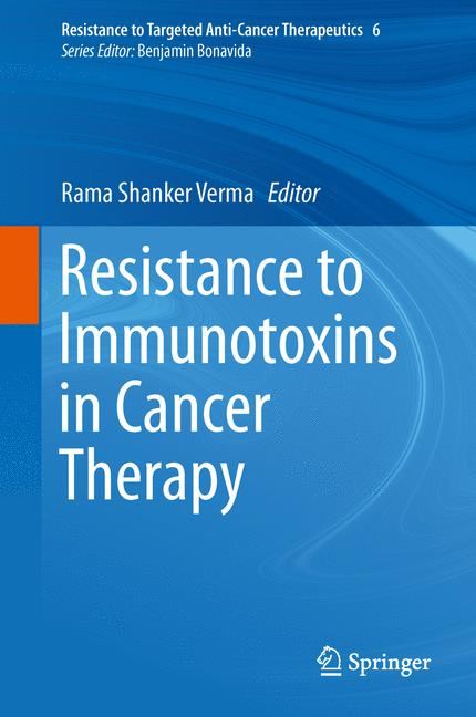 Cover of 'Resistance to Immunotoxins in Cancer Therapy'