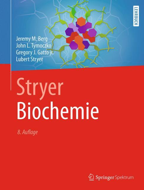 Cover of 'Stryer Biochemie'