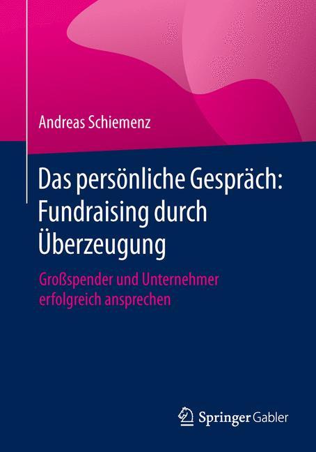 Cover of 'Das persönliche Gespräch: Fundraising durch Überzeugung'
