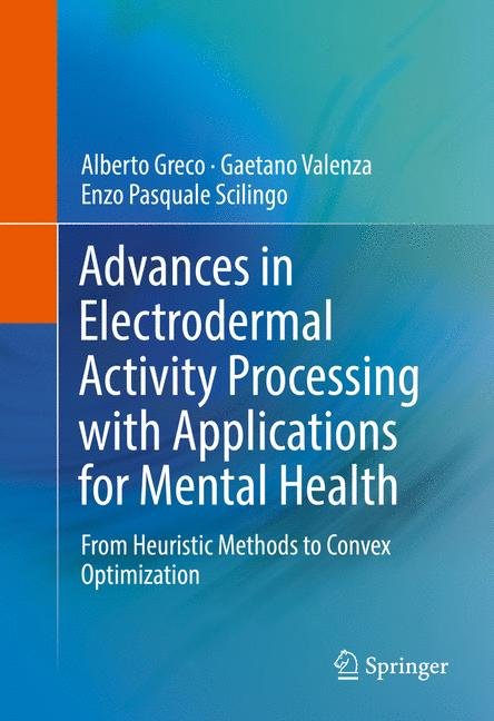 Cover of 'Advances in Electrodermal Activity Processing with Applications for Mental Health'
