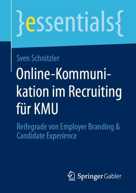 Cover of 'Online-Kommunikation im Recruiting für KMU'