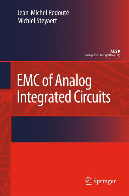 Cover of 'EMC of Analog Integrated Circuits'