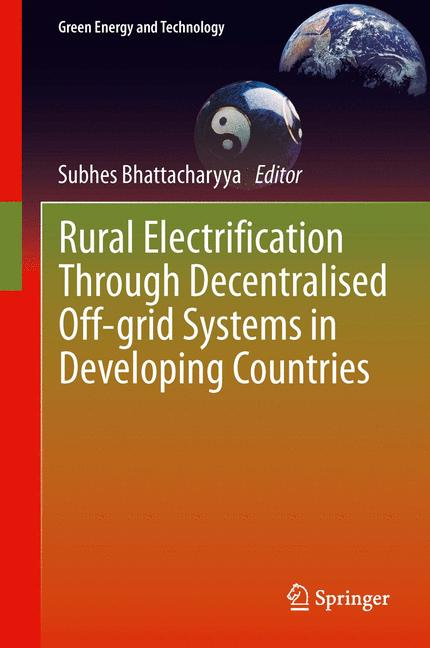 Cover of 'Rural Electrification Through Decentralised Off-grid Systems in Developing Countries'