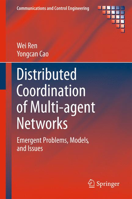 Cover of 'Distributed Coordination of Multi-agent Networks'