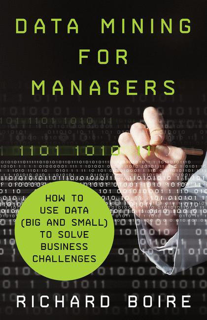 Cover of 'Data Mining for Managers'