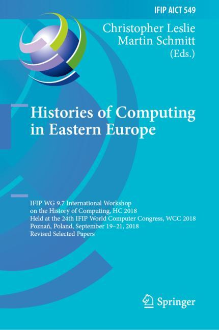 Cover of 'Histories of Computing in Eastern Europe'