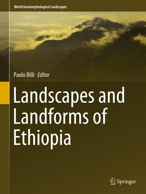 Cover of 'Landscapes and Landforms of Ethiopia'