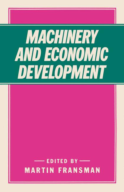Cover of 'Machinery and Economic Development'