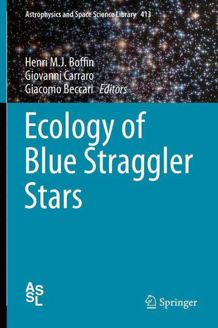 Cover of 'Ecology of Blue Straggler Stars'