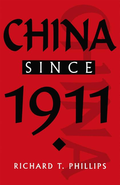 Cover of 'China since 1911'
