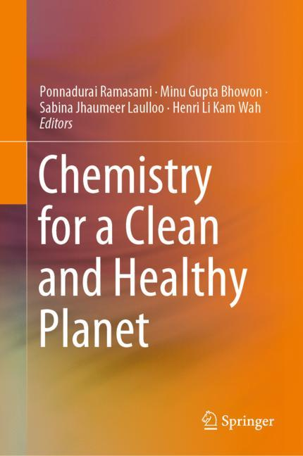 Cover of 'Chemistry for a Clean and Healthy Planet'