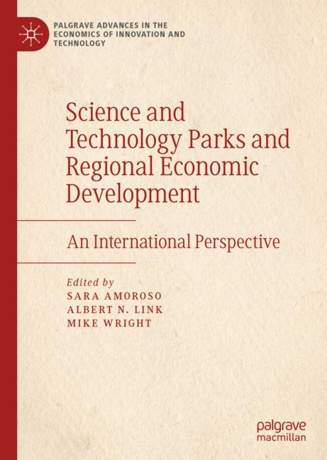 Cover of 'Science and Technology Parks and Regional Economic Development'