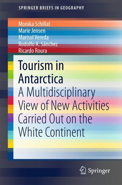 Cover of 'Tourism in Antarctica'