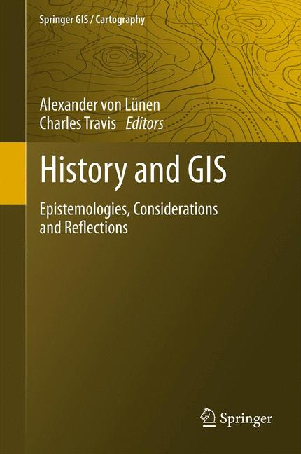Cover of 'History and GIS'