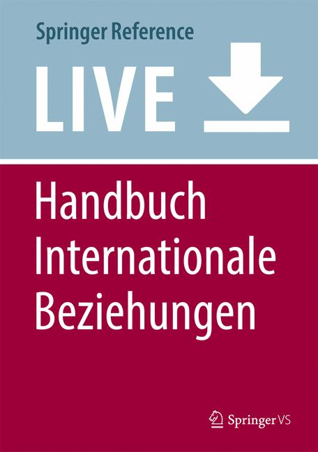 Cover of 'Handbuch Internationale Beziehungen'