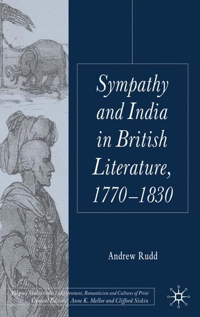 Cover of 'Sympathy and India in British Literature, 1770–1830'