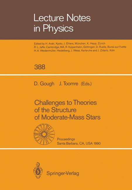 Cover of 'Challenges to Theories of the Structure of Moderate-Mass Stars'