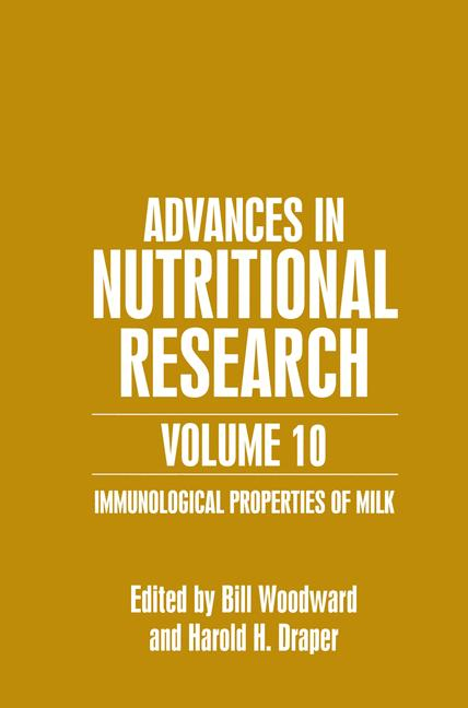 Cover of 'Advances in Nutritional Research'