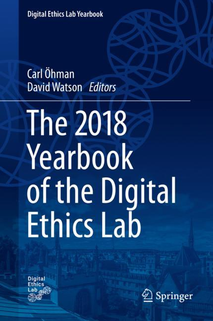 Cover of 'The 2018 Yearbook of the Digital Ethics Lab'
