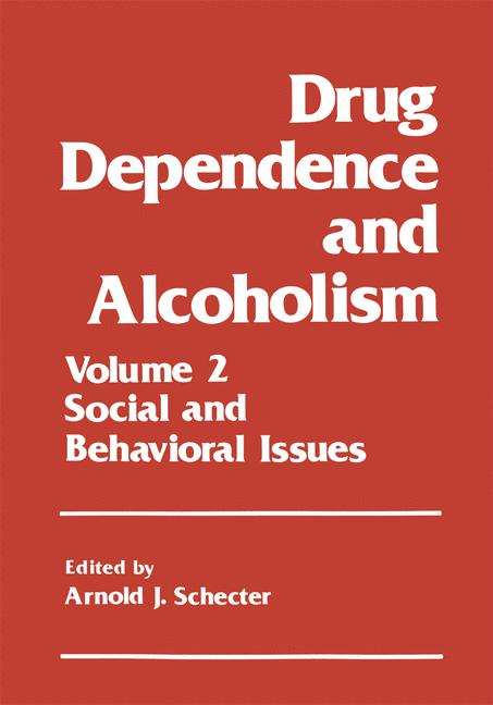 Cover of 'Drug Dependence and Alcoholism'