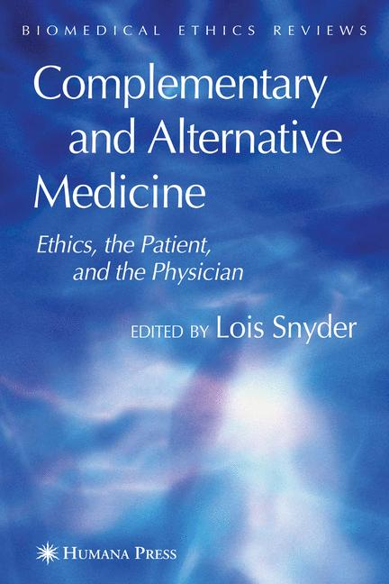 Cover of 'Complementary and Alternative Medicine'