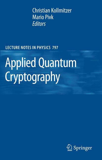 Cover of 'Applied Quantum Cryptography'