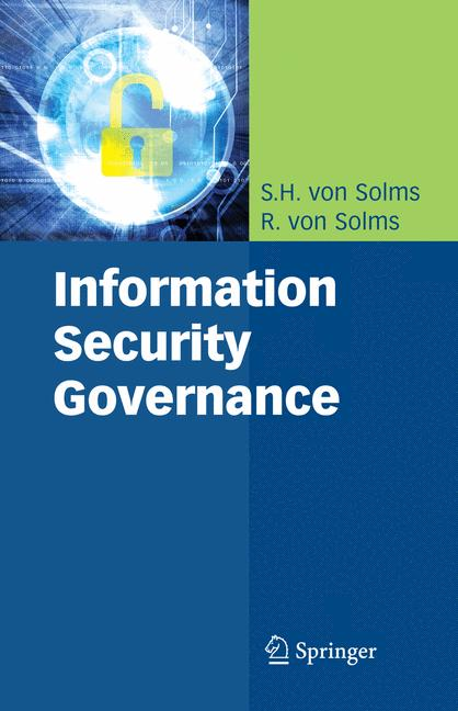 Cover of 'Information Security Governance'