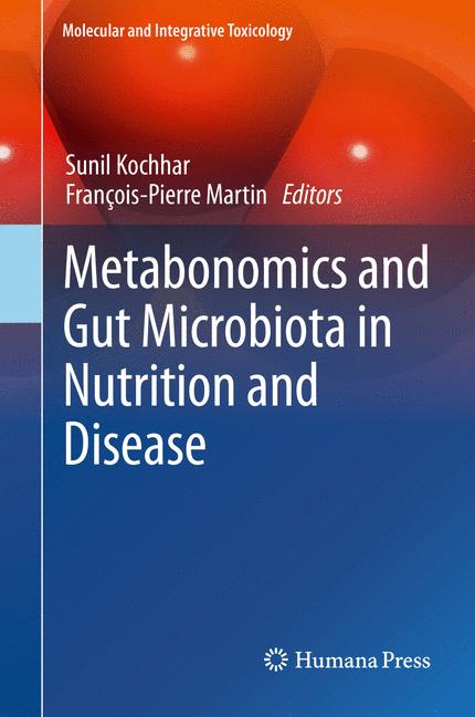 Cover of 'Metabonomics and Gut Microbiota in Nutrition and Disease'