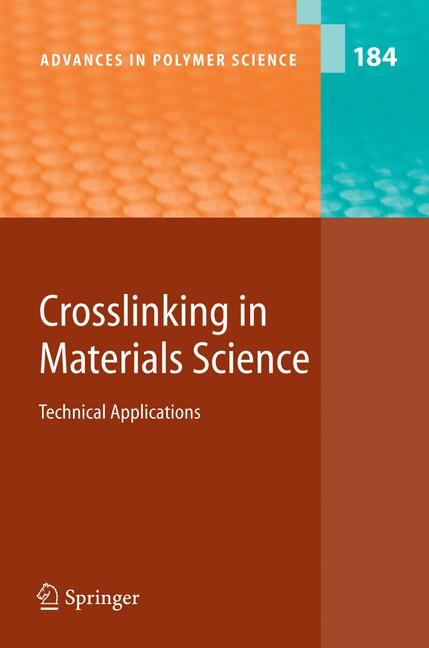 Cover of 'Crosslinking in Materials Science'